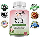 Kidney Support Advanced Herbal Formula- All-Natural Plant-Based Dietary Supplement- Cranberry Extract- Detox and Cleanse Body- Supports Healthy Kidney and Urinary Tract- 60 Vegetable Capsules Review