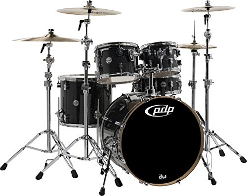 PDP Concept Maple Shell Pack - 5-piece - Ebony -