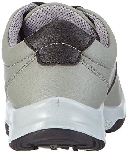 AbebaSicherheitsschuhe uni6 1785 Halbschuh   S2 küchengeeignet Stahlkappe - Zapatos de Seguridad Unisex adulto Gris - Grau (schwarz)