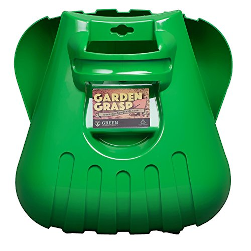 Garden Grasp Leaf Scoops: Large Rake Hands for Scooping Grass Clippings and Lawn Debris: 1 Set is 2 Hand Rakes