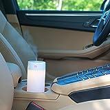 TechCode Mini Ultrasonic Air Humidifier, LED Warm