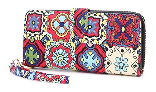 LOVESHE Women's New Design Bohemian Style Purse Clutch Bag Card Holder