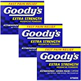 Goody's Extra Strength Headache Powder, 50 Count(Pack of 3)