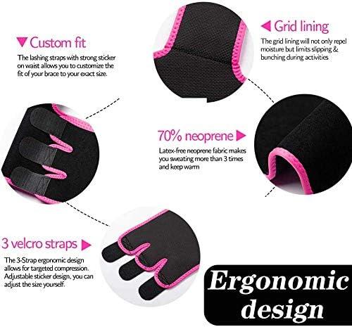 Waist and Thigh Trimmer for Women Weight Loss Sweat Band Waist Trainer Butt Lifter Neoprene Hip Shapewear Enhancer 4