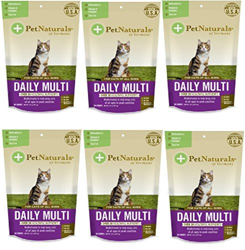 Daily Multi Chews For Cats 30/Pkg- by Pet Naturals