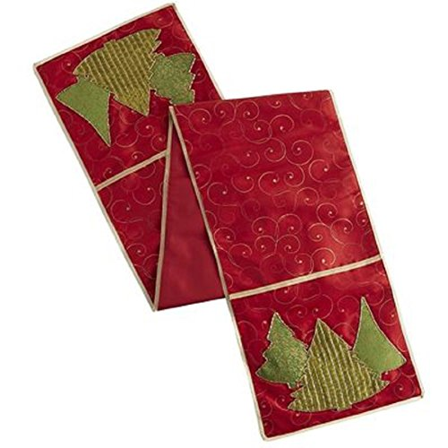 Pier 1 Imports 72 Inch Christmas Trees Table Runner ()
