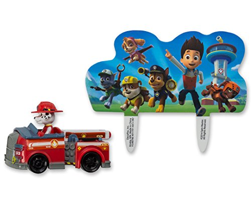 DecoPac PAW Patrol Just Yelp for Help Cake Topper Set]()