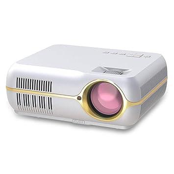 Bewinner Mini proyector portátil 1080P LED Home Media Player ...