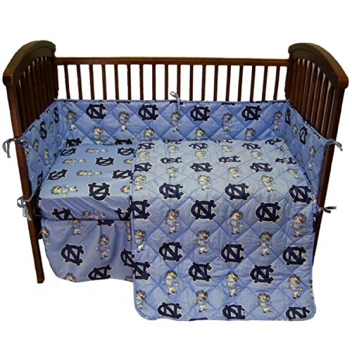 College Covers International North Carolina Tar Heels 5 Piece Baby Crib Set