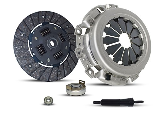 (Clutch Kit Works With Geo Chevrolet Metro Base LSi Xfi Hatchback Convertible Sedan 1989-2000 1.0L L3 GAS SOHC Naturally Aspirated)