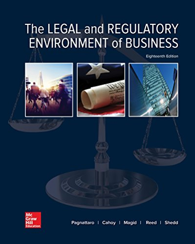 Loose Leaf for The Legal and Regulatory Environment of Business