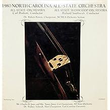 1980 North Carolina All-State Orchestra