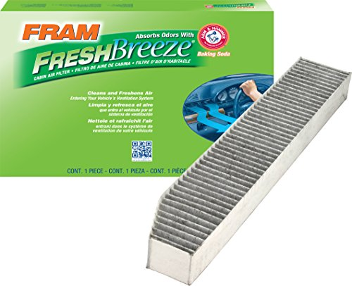 FRAM CF10363 Fresh Breeze Cabin Air Filter with Arm & Hammer