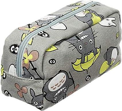 My Neighbor Totoro - Estuche para lápices, neceser de maquillaje: Amazon.es: Oficina y papelería