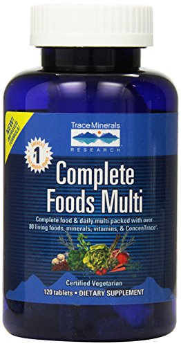 (Trace Minerals Complete Foods Multi, Tablets, 120-Count)