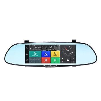 "JUNSUN A910 9.35/"" Car DVR Quad-Core Rearview Mirror Video GPS WiFi Dash Cam FM"