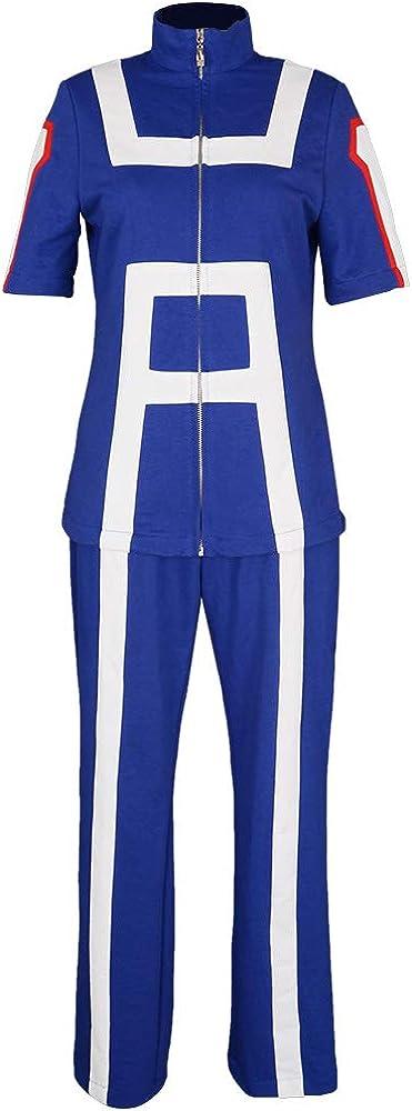 miccostumes Womens U A High School Gym Uniform Suit Cosplay Sportswear