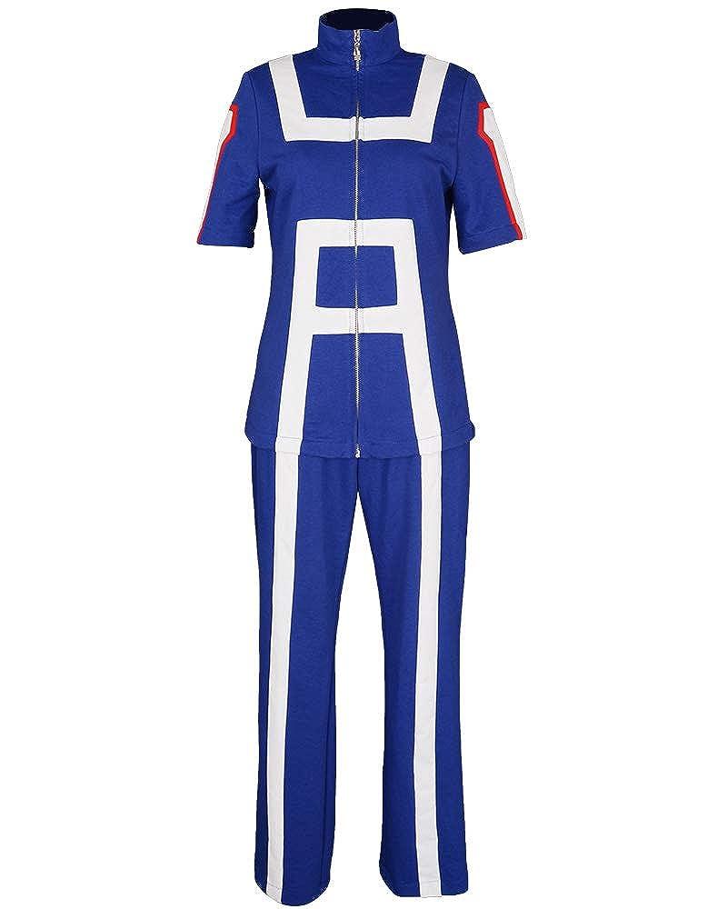7fa143f1d1dd Amazon.com  Miccostumes Women s U A High School Gym Suit Cosplay Sportswear   Clothing