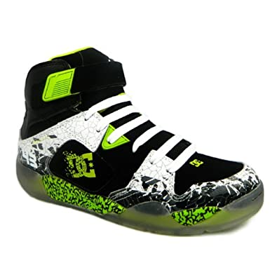 dc pro spec 3 0 ken block mens leather skates shoes hi top trainers 7 uk black. Black Bedroom Furniture Sets. Home Design Ideas