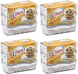 product image for Crisco Baking Stickes Butter Flavor All Vegetable Shortening, 20 Ounce (Pack of 4)