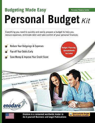 Personal Budget Kit Including Financial Software (Budgeting Made
