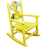 Wonderful Teamson Kids   Safari Wooden Rocking Chair For Children   Giraffe