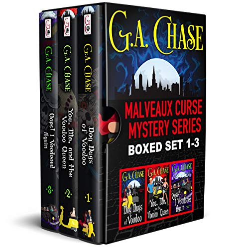 The Malveaux Curse Mysteries, Books 1-3 by G.A. Chase ebook deal