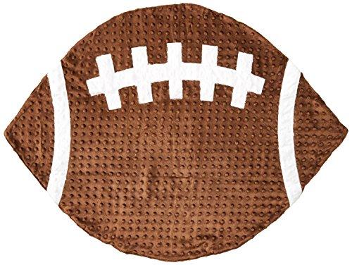 Mud Pie Football Blanket Stroller Brown