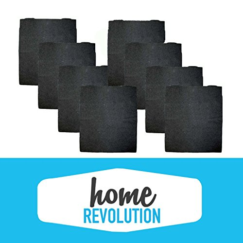 8 Whirlpool 8171434K AP300, AP350, AP450 & AP510 Comparable Carbon Pre Filters. A Home Revolution Brand Quality Replacement.
