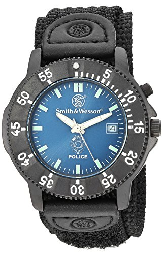 Smith & Wesson, SWW-455P Police Watch- Back Glow
