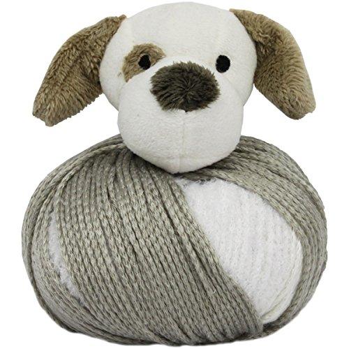DMC TTY15PU Top This! Puppy Yarn Kit -