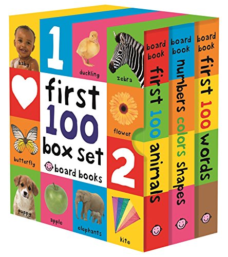 [First 100 Board Book Box Set (3 books)] (First Animal Book)