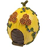 #6: Honeyclover Dreams® Honey Melon House Fairy Garden House | Deluxe Miniature Garden House | *FREE BONUS*: in-depth eBook on Miniature Gardening techniques | CHARITY-APPROVED | LUXURY GIFT BOX | Part of the Honeyclover Village Collection | Enchanting Fairy Garden Piece | Suitable for Indoor & Outdoor Use | Hand Painted | Lifetime Satisfaction Guarantee