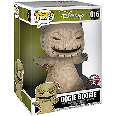 Funko 43799 POP Disney Christmas-10 Nightmare Before Christmas Oogie Boogie Collectible Figure, Multicolour: Toys & Games