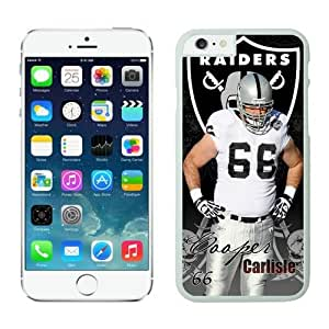 NFL Oakland Raiders Cooper Carlisle iPhone 6 Plus Case White 5.5 Inches NFLIphone6PlusCases13909