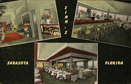Amazon Com Zinn S Restaurant Sarasota Florida Original