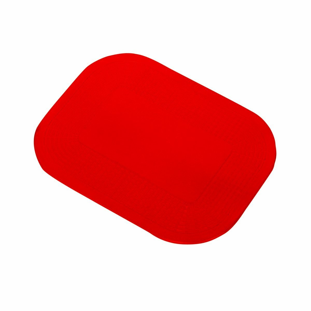 Dycem Non-Slip Mat - Rectangle 350x250mm (14x10'') - Red by NRS (Image #1)