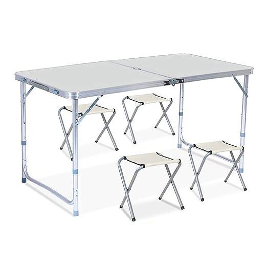 Tavoli Alluminio Pieghevoli Usati.Tavoli Pieghevoli Top Pieghevole Rettangolare Telaio In Lega Di
