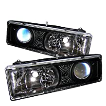 Spyder Auto PRO-YD-CCK88-BK Chevy C/K Series 1500/2500/3500/Chevy Tahoe Black Projector Headlight
