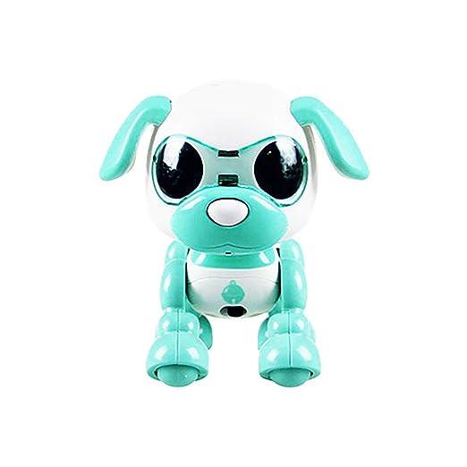 Tianya Electrónica Inteligente Robot Perro con Música Danza Juguetes para niños (menta verde): Amazon.es: Bricolaje y herramientas