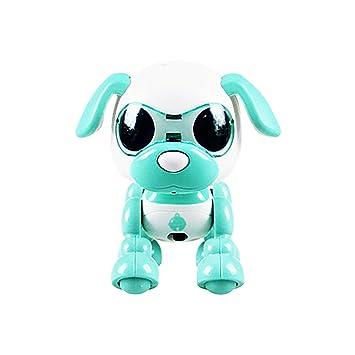 Tianya Electrónica Inteligente Robot Perro con Música Danza Juguetes para niños (menta verde)