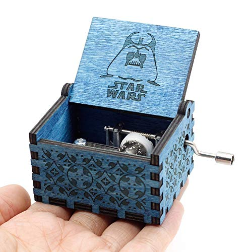 VDV Music Box - Christmas Dark Blue Pink Music Box Legend of Zelda Jack from Pirates Pink Sailor Moon Star Wars Child New Year's -