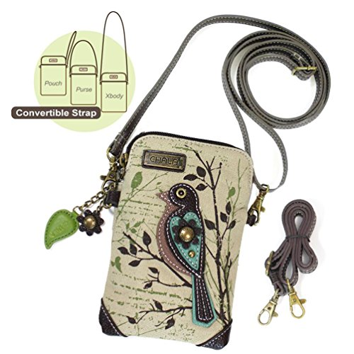Pictures of Chala Crossbody Cell Phone Purse - Women Canvas 927PB0 3