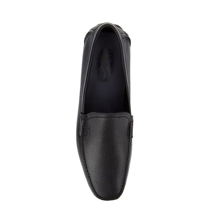 Salvatore Ferragamo - Mocasines para hombre marrón marrón IT - Marke Größe, color marrón, talla 40.5 IT - Marke Größe 7.5: Amazon.es: Zapatos y complementos