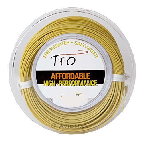 TFO Floating Fly Fishing Line Weight Forward Light Olive