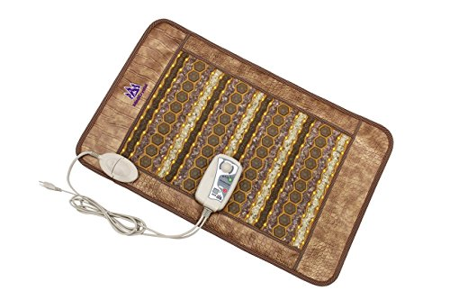 (Amethyst Jade Tourmaline Flexible Heating Pad (Medium Pad 32