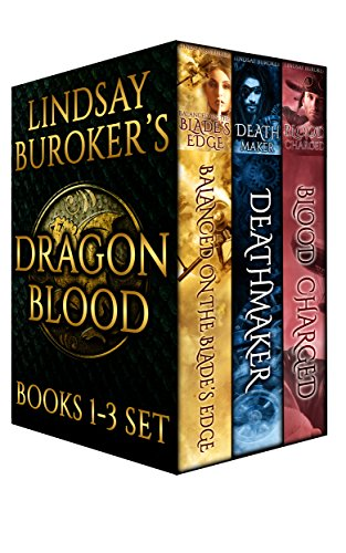 The Dragon Blood Collection, Books 1-3 by [Buroker, Lindsay]