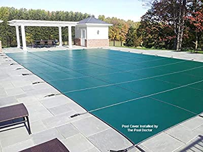 Retractable Lightweight Winter Safety Inground Swimming Pool Cover detail review