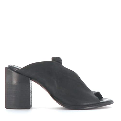 uk availability a3701 b0ab3 A.S.98 Heels Colonna 933007-101 Nero Airstep as98: Amazon.co ...