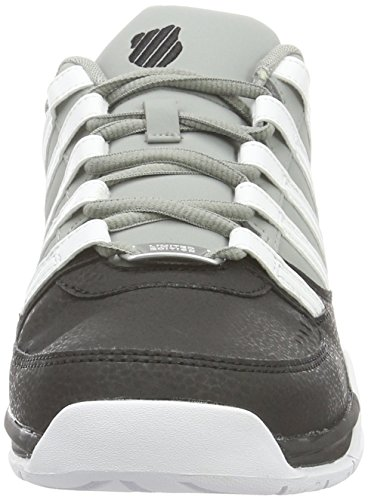 K-Swiss BAXTER - Zapatillas Hombre Negro (BLACK/NEUTRAL GRAY/WHITE)